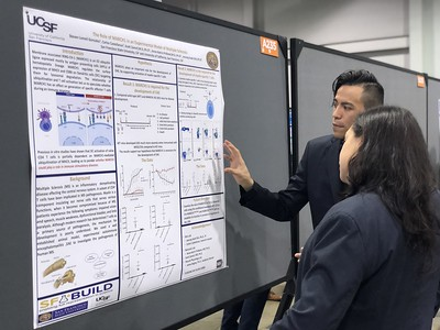 SF BUILD student Steven Lomeli presents research at ABRCMS conference